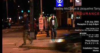 ブラッドレー・マッカラム & ジャクリーヌ・タリー -Endurance-