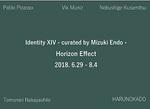 Identity XIV - curated by Mizuki Endo -水平線効果-