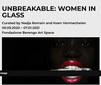 ジャナイナ・チェッペ:グループ展「UNBREAKABLE: WOMEN IN GLASS」に参加 / Fondazione Berengo