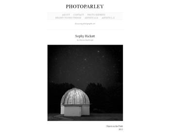 ソフィー・リケット: Photoparley, 2013年12月