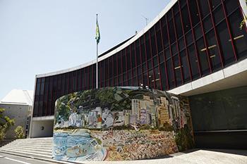 Vik Muniz: Mural at Brazilian Embassy in Tokyo