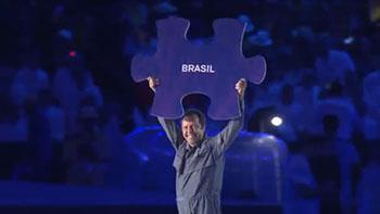 ヴィック・ムニーズ:リオデジャネイロ・パラリンピック開会式