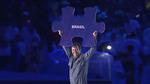 Vik Muniz: Opening ceremony Rio Paralympics 2016