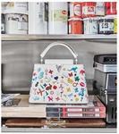 Vik Muniz: Arty Capucines Collection Louis Vuitton