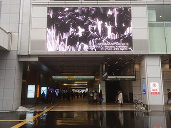 Masahito Koshinaka: NEWoMan ART wall @ NEWoMAN New South Gate (Shinjuku JR station)