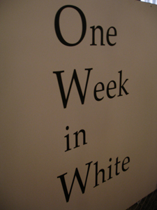 Tomoko Mukaiyama & NDT -One Week in White-